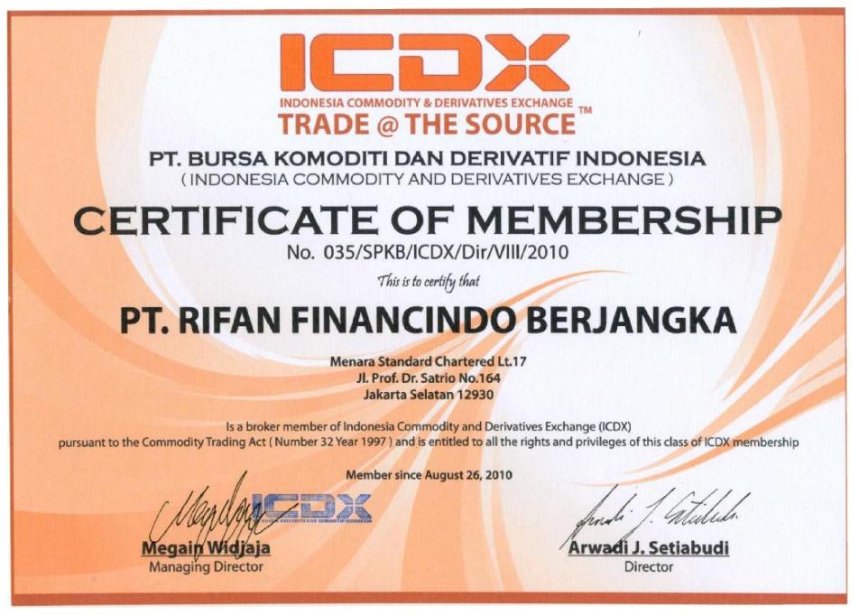 Rifan Financindo Bandung.